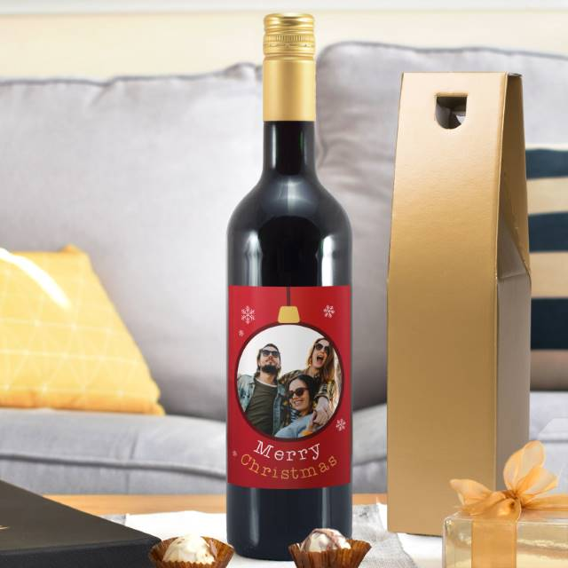 Personalised Photo Wine Gifts