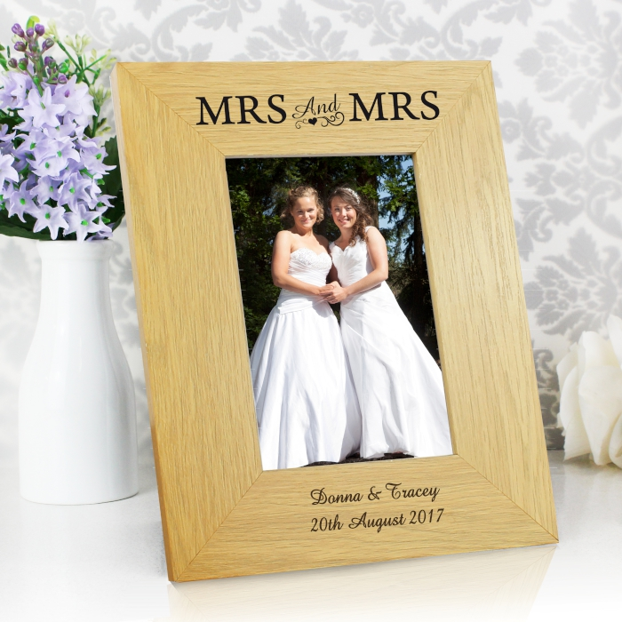 Mrs & Mrs Wedding Gifts