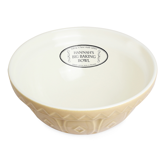 Big Baking Personalised Mixing Bowl : Personalised Books ...