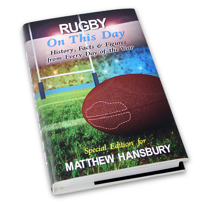 Personalised Rugby Gifts