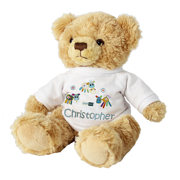Farmyard Boy's Personalised Teddy