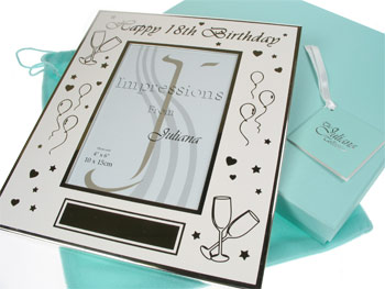 18th Birthday Personalised Party Photo Frame