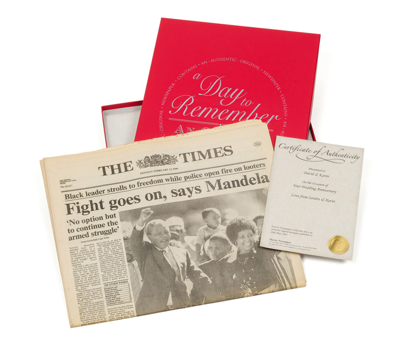 Archive Newspaper Gifts