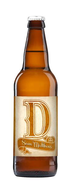 Dad's Personalised D-A-D Craft Beer - Pack of 3