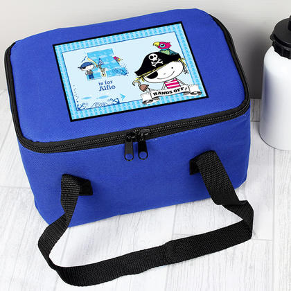 Pirate Letter Personalised Lunch Bag