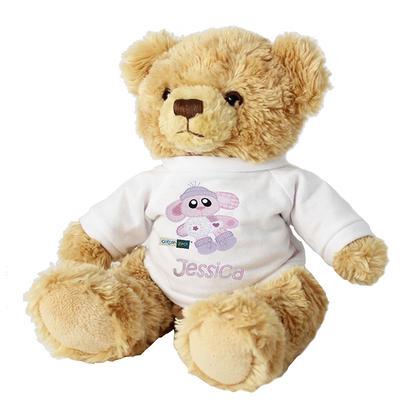 Bunny Personalised Teddy - Bobbie the Bunny