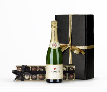 Champagne & Chocolates Gift Hamper