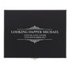 Cufflink Personalised Compartment Box - Large