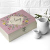 Botanical Personalised Tea Box with Tea