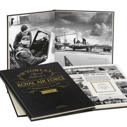 RAF 100 Years - Personalised Newspaper Book