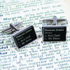 Definition Personalised Cufflinks