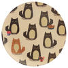 Cat Design Bambootique Eco Friendly Plate