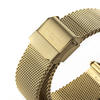 Ladies Personalised Watch - Yellow Gold Mesh Strap