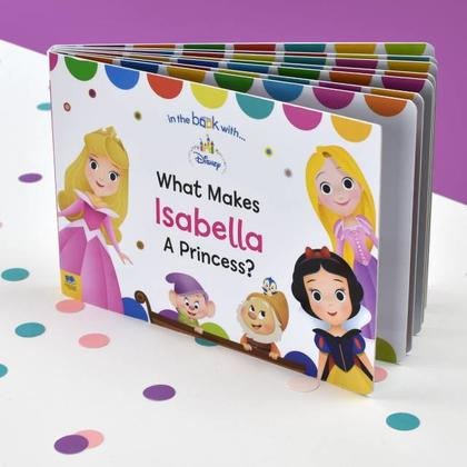 What Makes me a Princess Personalised Disney Board Book