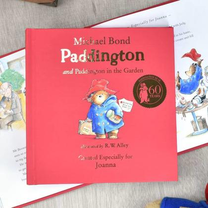 Paddington Bear Personalised Book