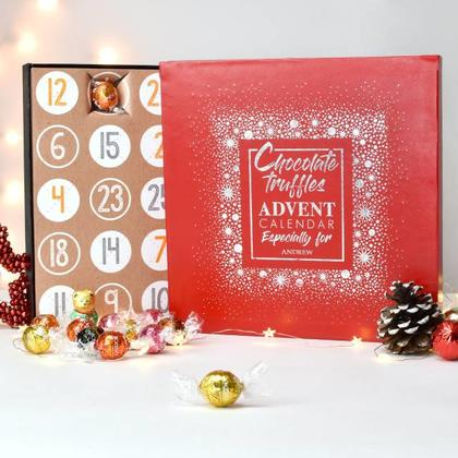 Truffles Advent Calendar Personalised Christmas Box