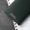 Golf Notes Personalised Leather Booklet