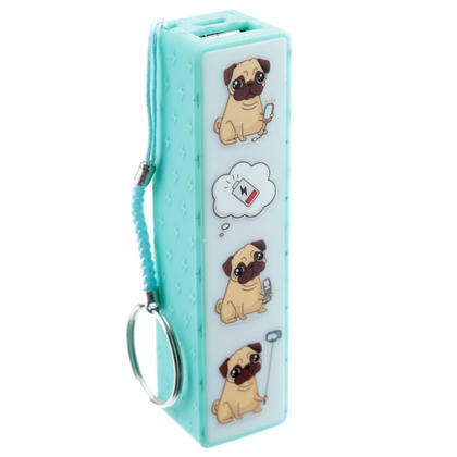 Pug Design USB Power Bank
