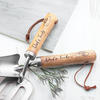 Gardening Trowel and Fork Personalised Set - Silver Plated