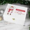 Mouse Personalised 1st Christmas Keepsake Box - White
