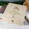 Christmas Personalised Keepsake Box - Large