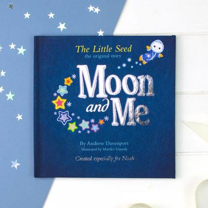 Moon and Me Personalised Book
