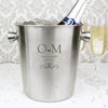 Monogram Personalised Stainless Steel Ice Bucket