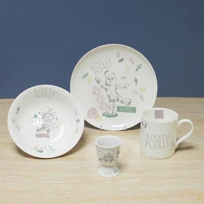 In The Night Garden Personalised Ceramic Breakfast Set